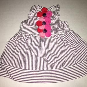Gymboree Tropical Petals Dress 0-3 Months